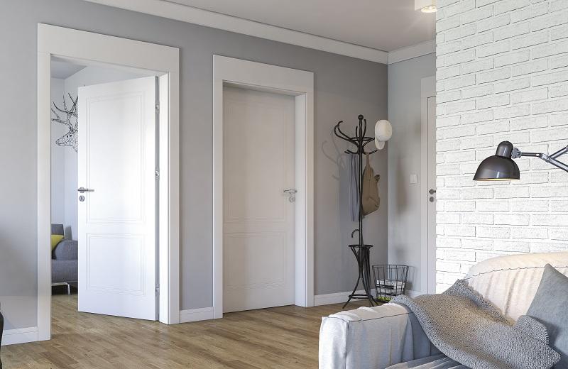 Интериорни врати Porta VECTOR бял E