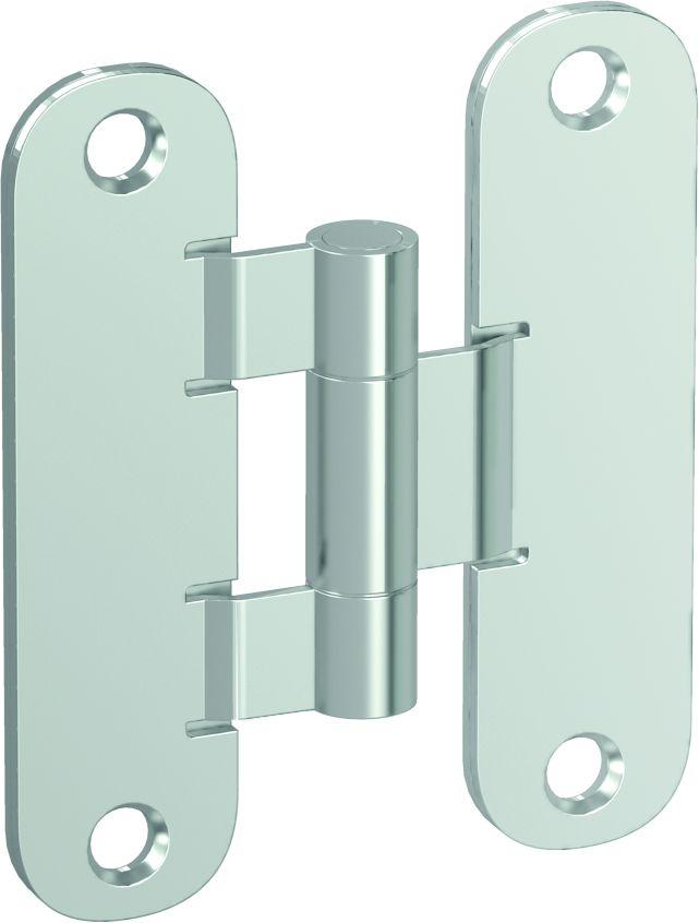 Standard hinge – door leaf and door frame part