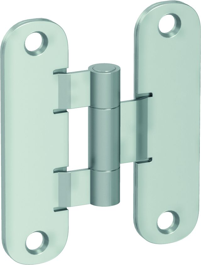 Standard hinge – door leaf and door frame part