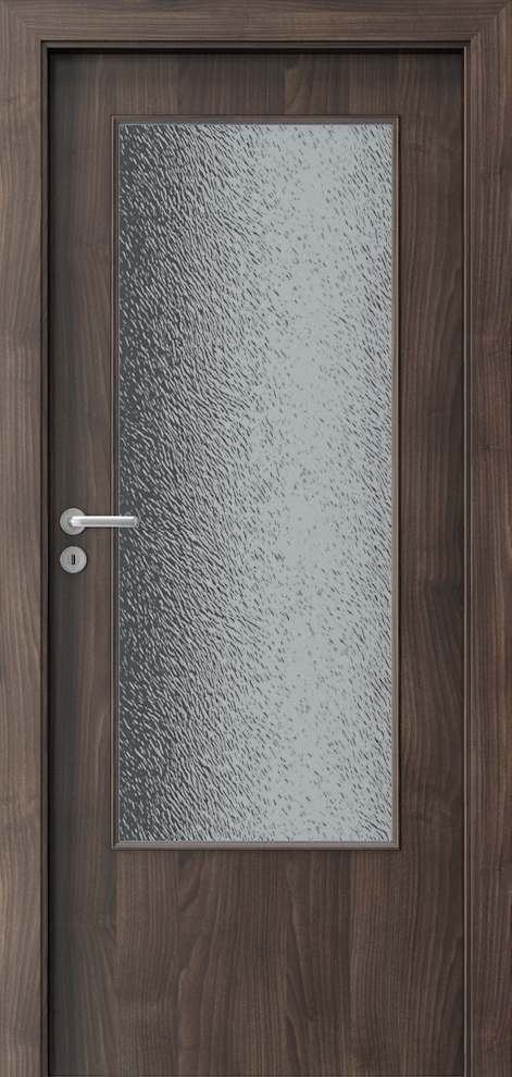 Porta DECOR Narrow Light Мед от акация