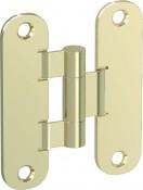 Аксесоар Hinges and hinge covers Standard hinge – door leaf and door frame part gold злато