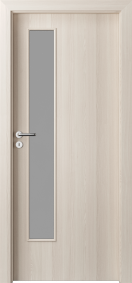 Интериорни врати Porta DECOR Narrow Light Бял орех