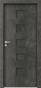 Интериорни врати пловдив Porta FIT B.0 Тъмен бетон