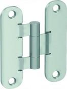 Аксесоар Hinges and hinge covers Standard hinge – door leaf and door frame part silver matt Сребърен мат