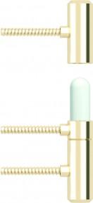 Аксесоар Hinges and hinge covers PRIME pintle hinge – door leaf and door frame part gold злато