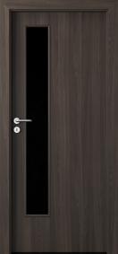 Интериорни врати Porta DECOR Narrow Light Портадекор Черно дърво