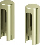 Аксесоар Hinges and hinge covers Covers for hinges for exterior doors (set per one hinge) gold злато