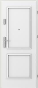 Вътрешни входни врати AGATE Plus Frame 1 Бял Дъб RAL 9016