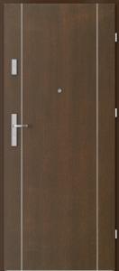 Вътрешни входни врати AGATE Plus Marquetry 1 Мока