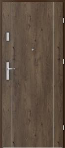 Вътрешни входни врати AGATE Plus Marquetry 1 Южен дъб