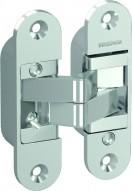 Аксесоар Hinges and hinge covers 3D hinge – door leaf and door frame part silver сребърен