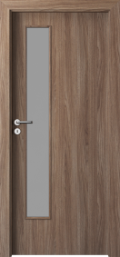 Интериорни врати Porta DECOR Narrow Light Орех Верона 2