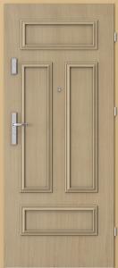 Вътрешни входни врати AGATE Plus Frame 2 Дъб 1