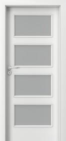 Плъзгащи интериорни врати Nova CPL Laminated 5.5 бял