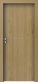 Врата за Баня Porta LINE CPL Дърво 1