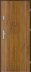 Вътрешни входни врати AGATE Plus Marquetry 1 Златен Дъб