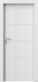 Класически интериорни врати бял