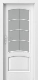 Интериорни врати пловдив Porta NOVA 6.4 бял