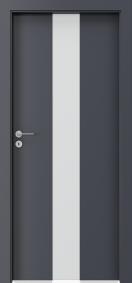 Интериорни врати пловдив Porta FOCUS Антрацитен HPL CPL