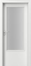 Интериорни врати Nova CPL Laminated 1.3 бял