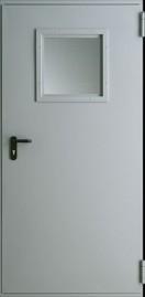 Пожароустойчиви Врати Metal EI 30 2 Сив Евроинвест (RAL 7047)