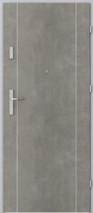 Вътрешни входни врати AGATE Plus Marquetry 1 Светъл бетон