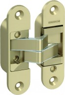 Аксесоар Hinges and hinge covers 3D hinge – door leaf and door frame part golden matt Златен мат
