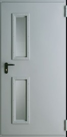 Пожароустойчиви Врати Metal EI 30 1 Сив Евроинвест (RAL 7047)