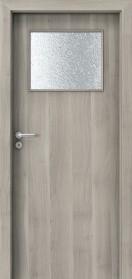 Интериорни врати Porta DECOR Narrow Light Сребърна акация