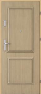 Вътрешни входни врати AGATE Plus Frame 1 Дъб 1