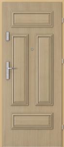 Вътрешни входни врати AGATE Plus Frame 4 with panel Дъб 1