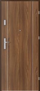 Вътрешни входни врати AGATE Plus Marquetry 1 Орех Модена 1