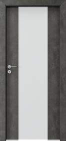 Интериорни врати Porta FOCUS Тъмен бетон