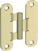 Аксесоар Hinges and hinge covers Standard hinge – door leaf and door frame part golden matt Златен мат
