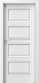 Интериорни врати Nova CPL Laminated 5.1 бял