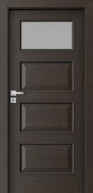 Полски интериорни врати 5.2 Тъмен орех