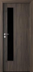 Интериорни врати Porta DECOR Narrow Light Тъмен дъб