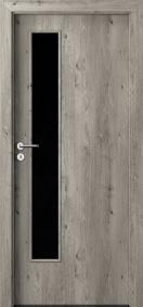 Интериорни врати Porta DECOR Narrow Light Сибирски дъб
