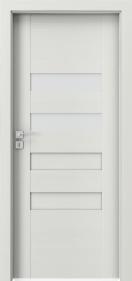 Интериорни врати Porta CONCEPT Уенге Уайт