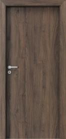 Интериорни врати Porta DECOR Narrow Light Червен дъб