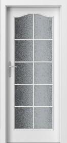 Интериорни врати пловдив LONDON Модел C Бяло