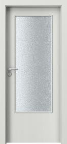 Интериорни врати Porta DECOR Narrow Light Уенге Уайт