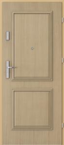 Вътрешни входни врати AGATE Plus Frame 3 with panel Дъб 1
