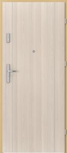 Вътрешни входни врати AGATE Plus Marquetry 1 Бял орех