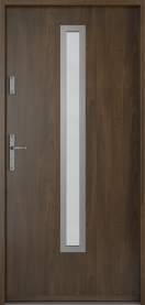 Входни врати за къща орех