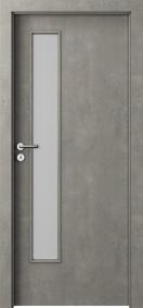 Интериорни врати Nova CPL Laminated Светъл бетон