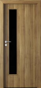 Интериорни врати Porta DECOR Narrow Light Мед от акация