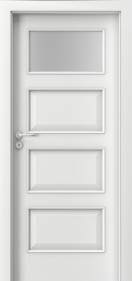 Интериорни врати Nova CPL Laminated 5.2 бял