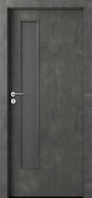 Интериорни врати Nova CPL Laminated Тъмен бетон